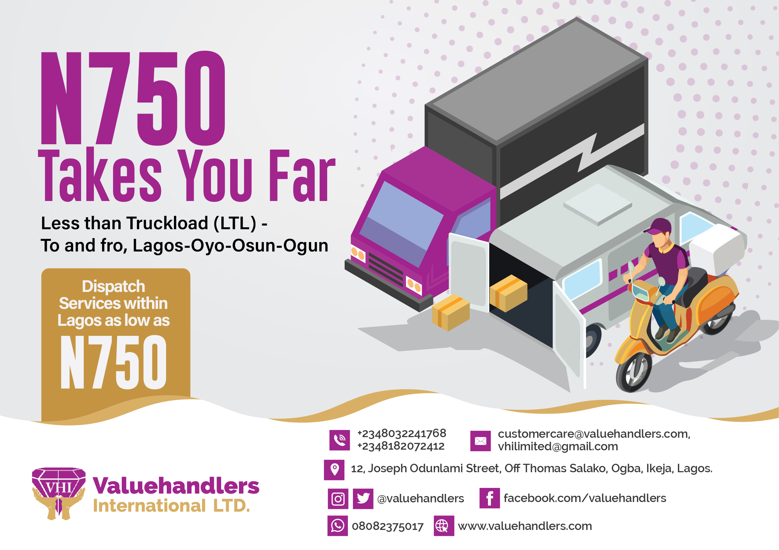 Packages Delivery in Nigeria- Safety Measures When Using Road Freight